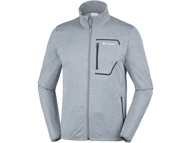 Columbia Chester Park Fleece Jas Heren, grey ash heather